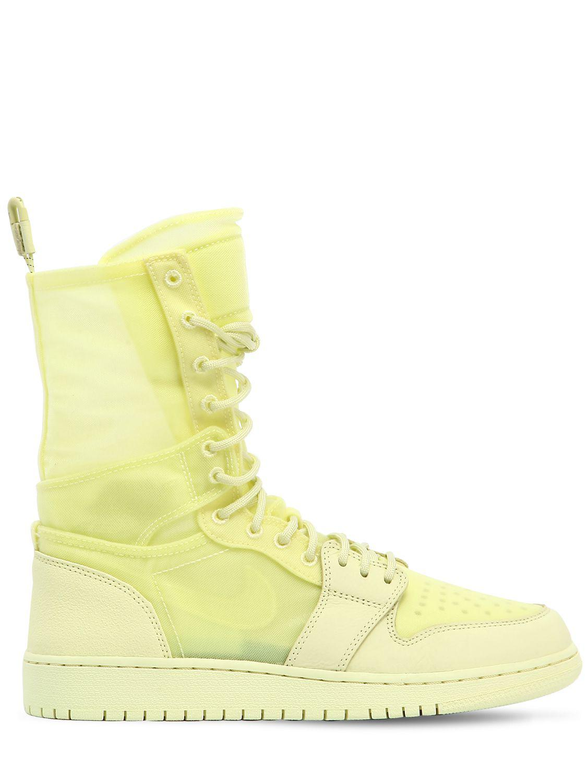 Nike Air Jordan 1 Explorer Xx Scarpe Scarpe Scarpe da Ginnastica stivali in giallo Lyst 1edeb9