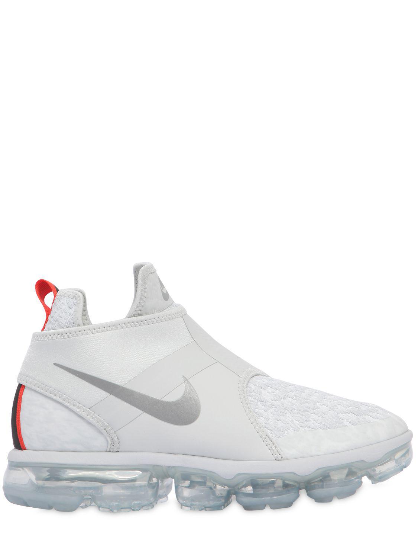 Nike Air Vapormax Chukka Slip-on Sneakers in White for Men - Lyst 06e832ded