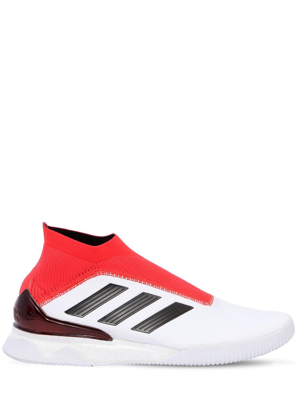 baa42b6a257dd adidas Originals Predator Tango 18+ Tr Primeknit Sneakers in White ...