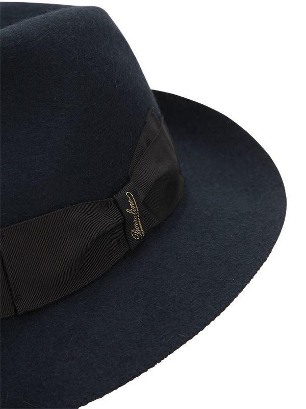 5905bebee34 Borsalino - Blue Traveller Fur Felt Hat for Men - Lyst. View fullscreen