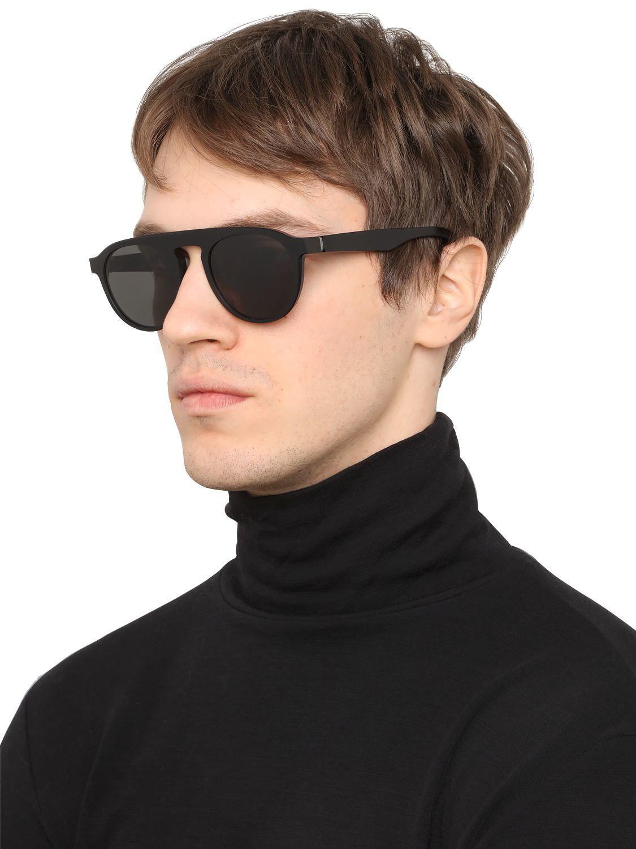 Mykita Maison Margiela Sunglasses in Black for Men