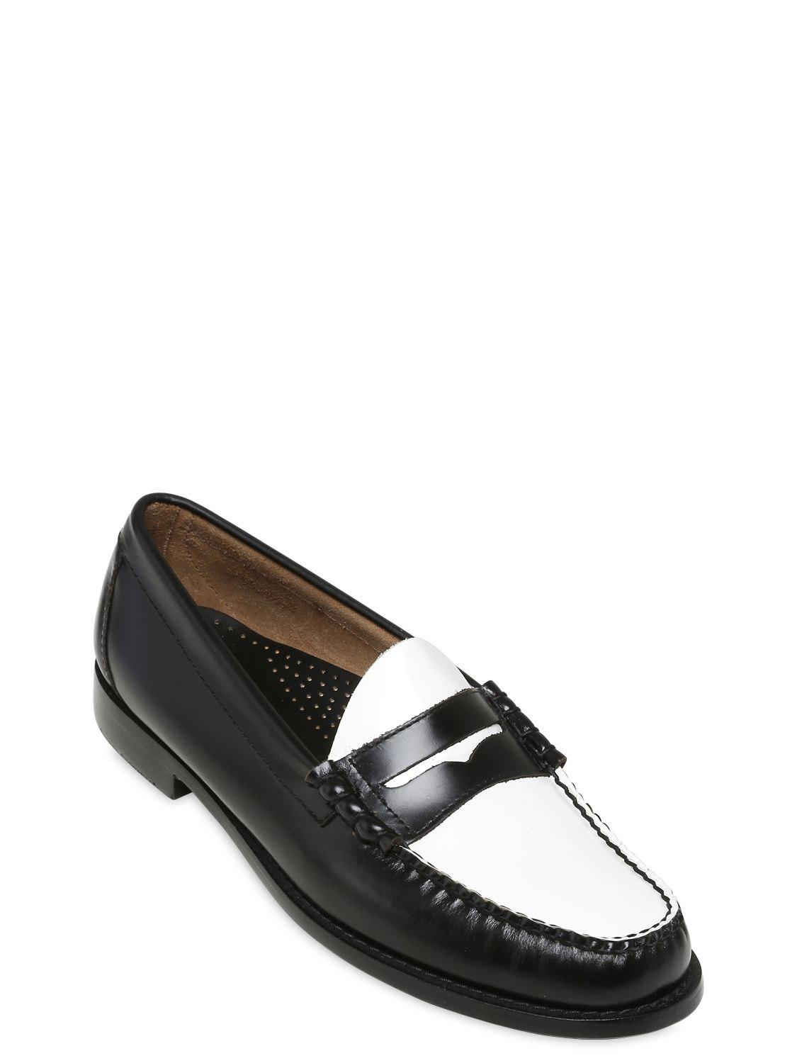 686f52b7edc Lyst - G.H.BASS Weejun Larson Penny Leather Loafers in Black for Men