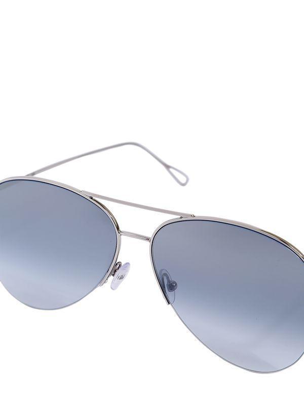 2483691fc814c Lyst - Kyme Stevie Aviator Sunglasses in Metallic for Men