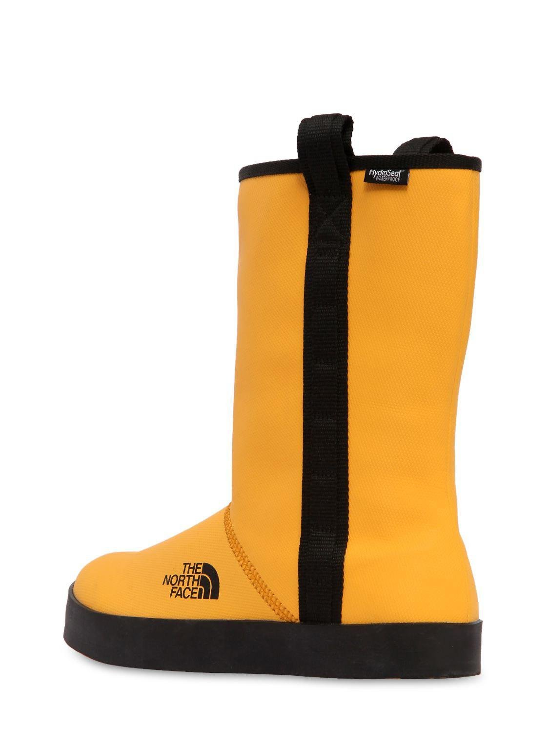 The North Face Base Camp Waterproof Short Rain Boots in Yellow