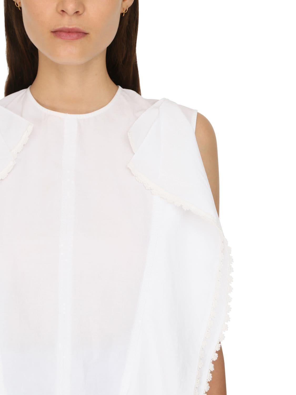 Top En Macramé De Coton Coton JW Anderson en coloris Blanc