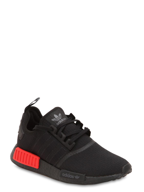 9c1d2020d Adidas Originals Nmd R1 Sneakers in Black for Men - Lyst