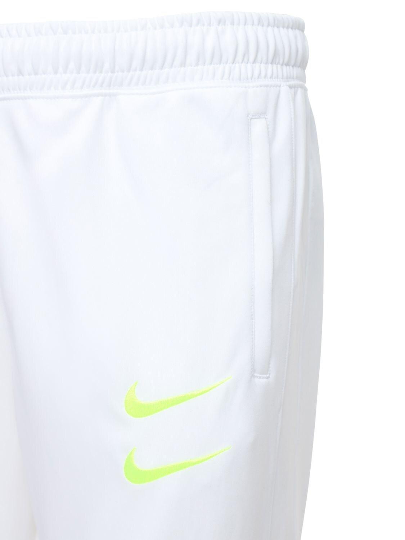 Pantaloni Con Swoosh da uomo di colore bianco