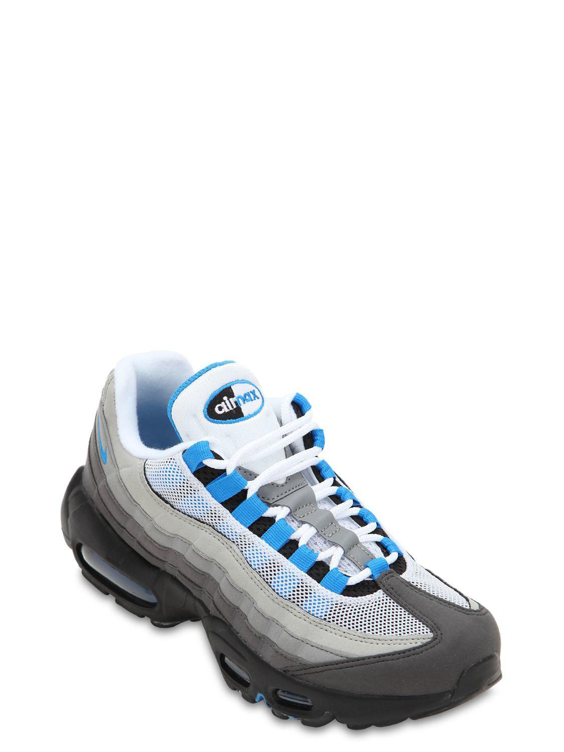 20ebb708a2 Lyst - Nike Air Max 95 Sneakers in Blue