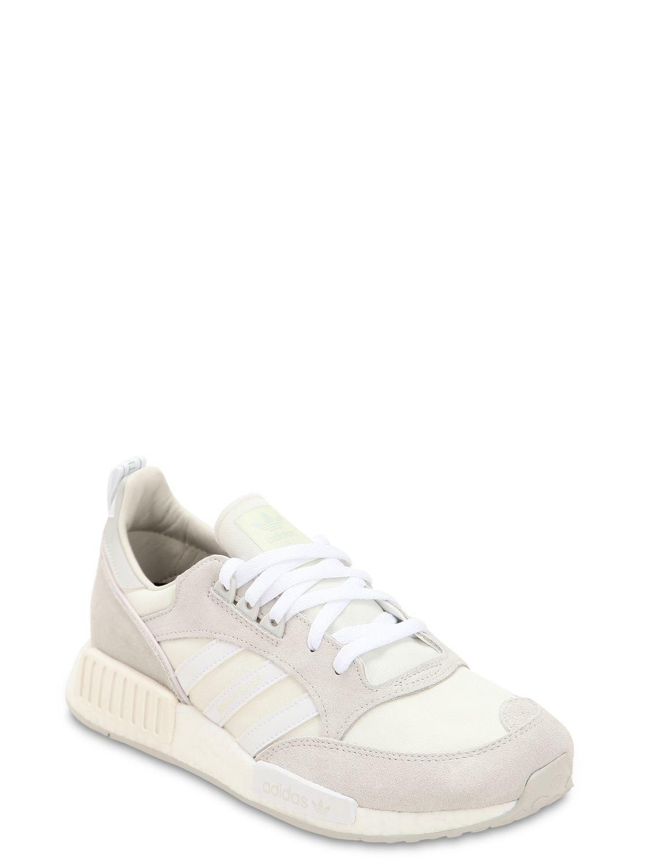 new product 14910 e9496 Lyst - adidas Originals Boston Super X R1 Boost Sneakers in White for Men