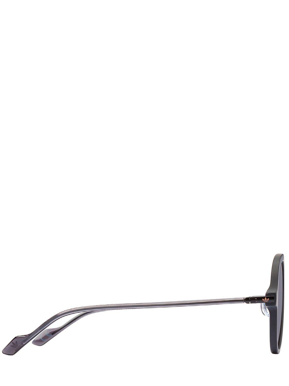 adidas Originals Acetate Aviator Sunglasses in Black