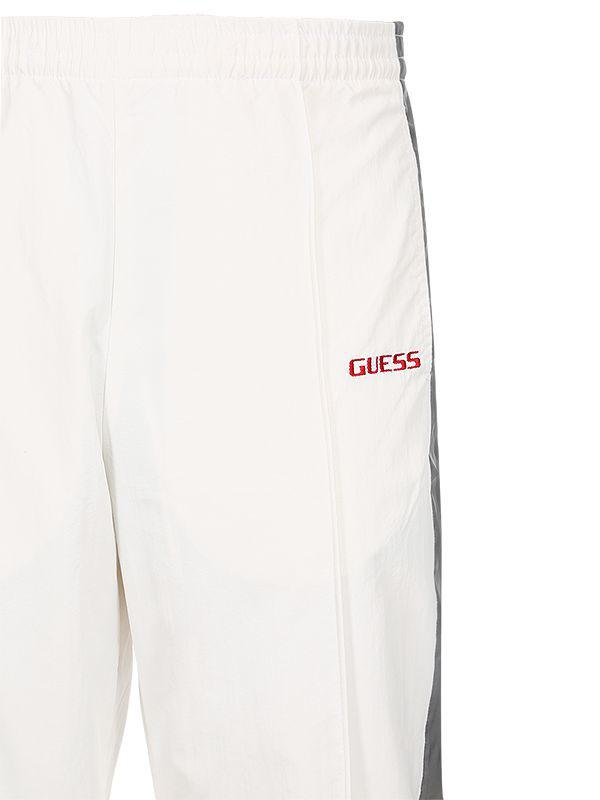 fe114180970d3c Guess Sean Wotherspoon Side Bands Track Pants in White for Men - Lyst