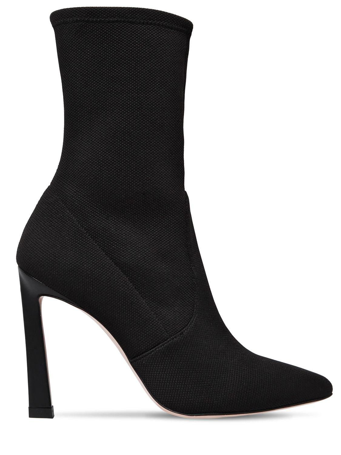 timeless design 45356 dad57 stuart-weitzman-BLACK-100mm-Rapture-Knit-Sock-Ankle-Boots.jpeg