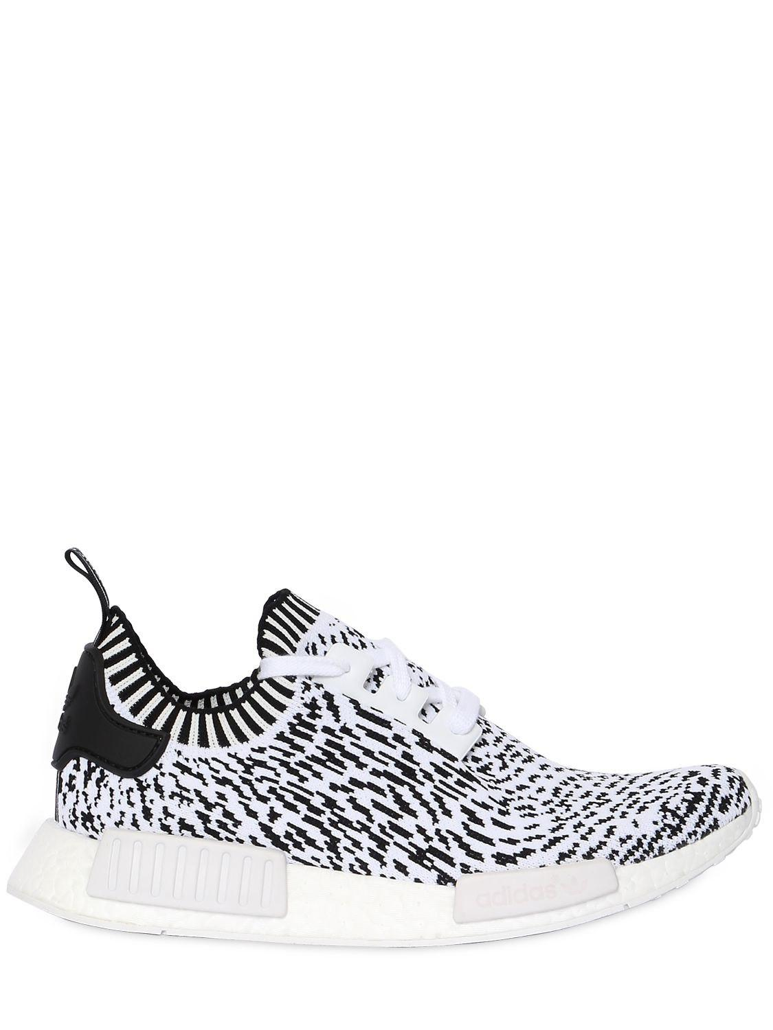 bf2c05d4638 Lyst - Adidas Originals Nmd R1 Primeknit Sneakers in White for Men ...
