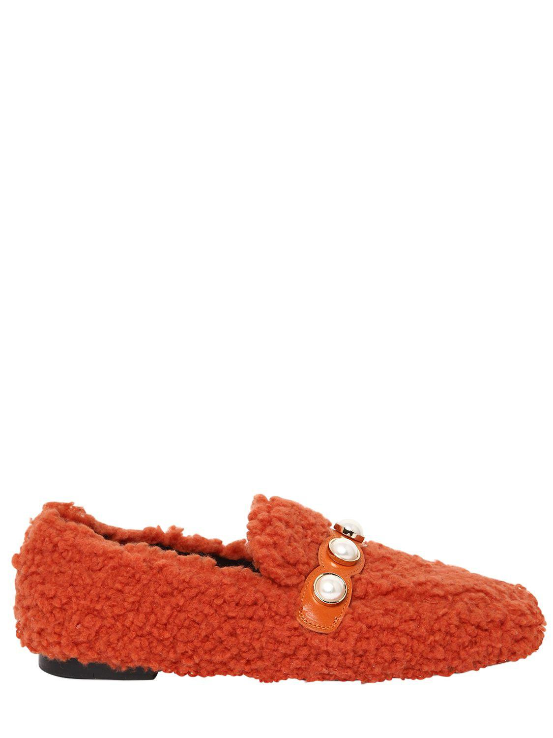 SUECOMMA BONNIE 10MM FURRY FAUX SHEARLING LOAFERS Fashion Style Cheap Price Huge Surprise Online Uk5dv2Mrdy
