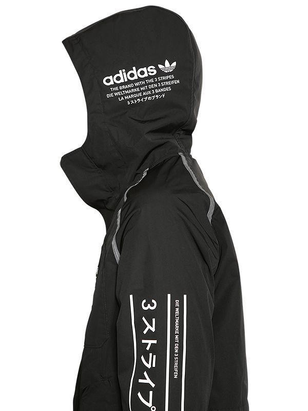 Detalles acerca de Adidas Originales Para Hombre Chaqueta de pista NMD Negro Entallada Retro Cremallera Trébol mostrar título original