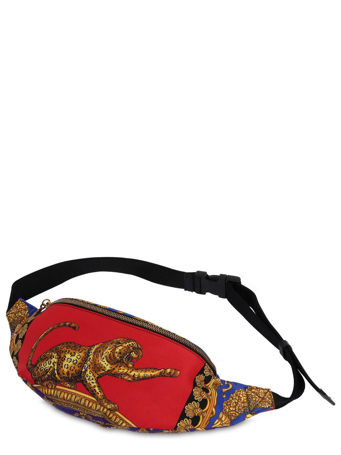Versace Synthetic Printed Nylon Belt Pack