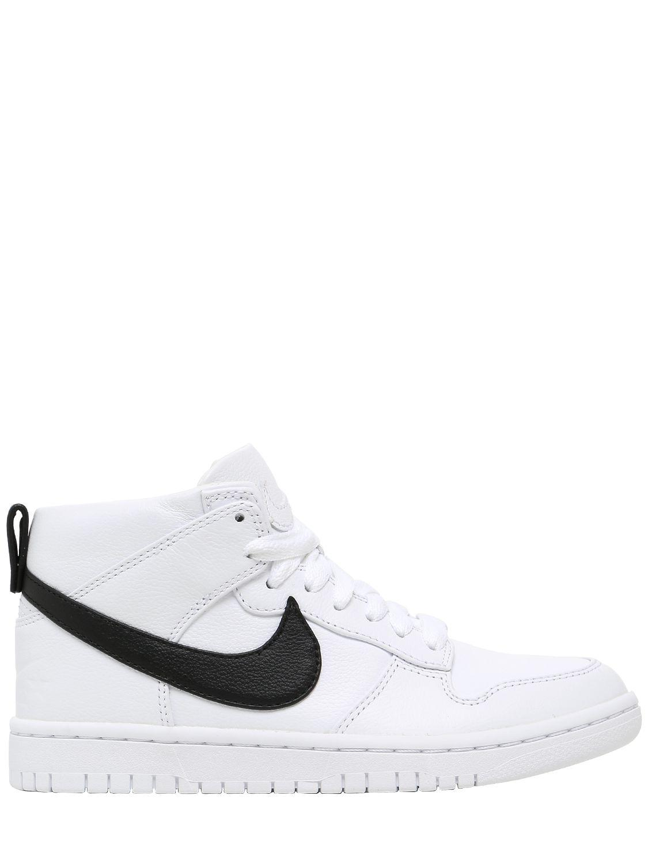 Nike. Women's White Lab Dunk Lux Chukka X Rt Sneakers