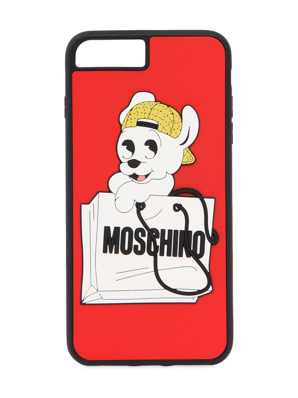 moschino coque iphone 8