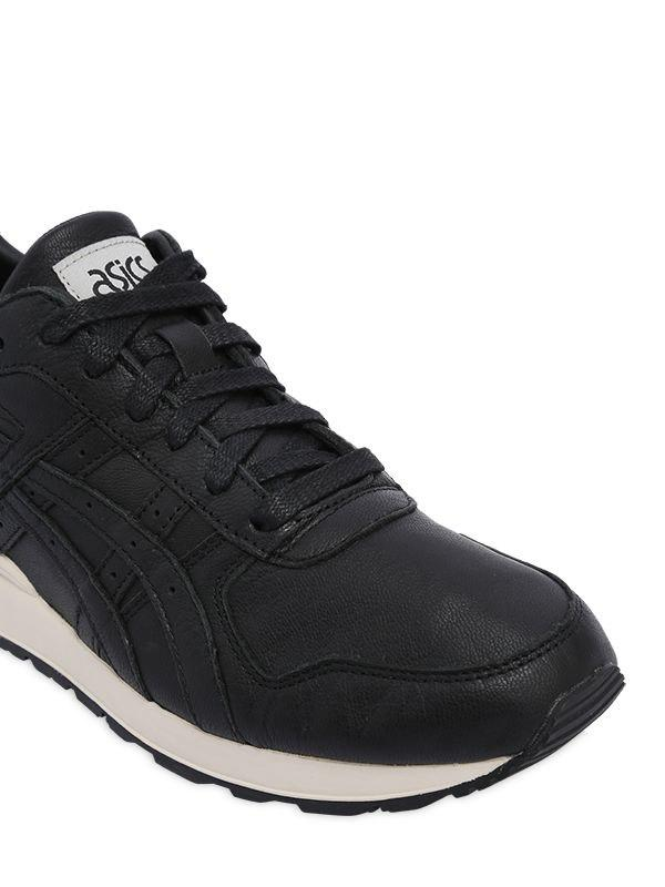 buy popular f13d8 55271 Asics Black Gt-ii Leather Sneakers for men
