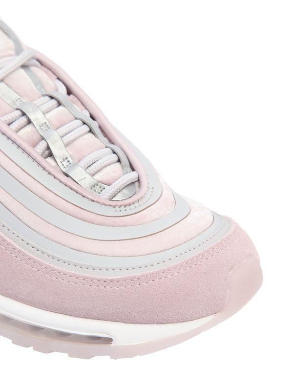 Nike Suede Air Max 97 Ultra Lux Sneakers In Light Pink Pink Lyst