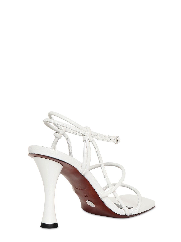 Sandales En Cuir 90 Mm Cuir Proenza Schouler en coloris Blanc