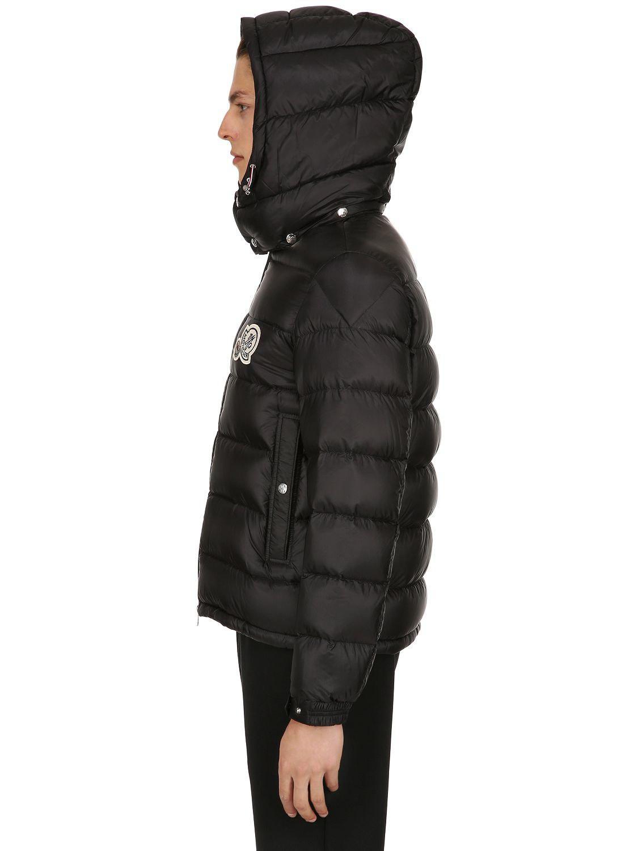 0243d3299 Moncler Black Bramant Nylon Down Jacket for men
