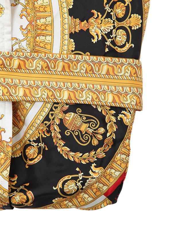 5db7772c82 Robe De Chambre En Soie Imprimée