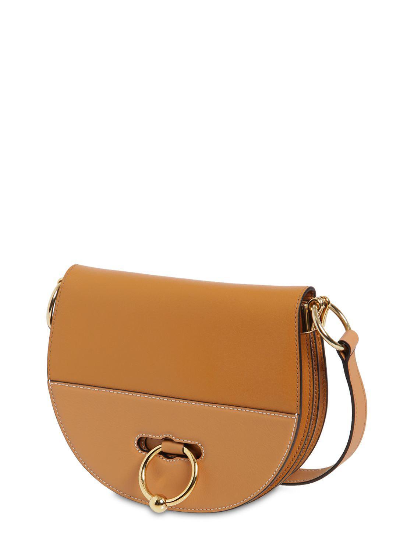 J.W. Anderson - Natural Latch Leather Shoulder Bag - Lyst. View fullscreen 05c130e9a8d26