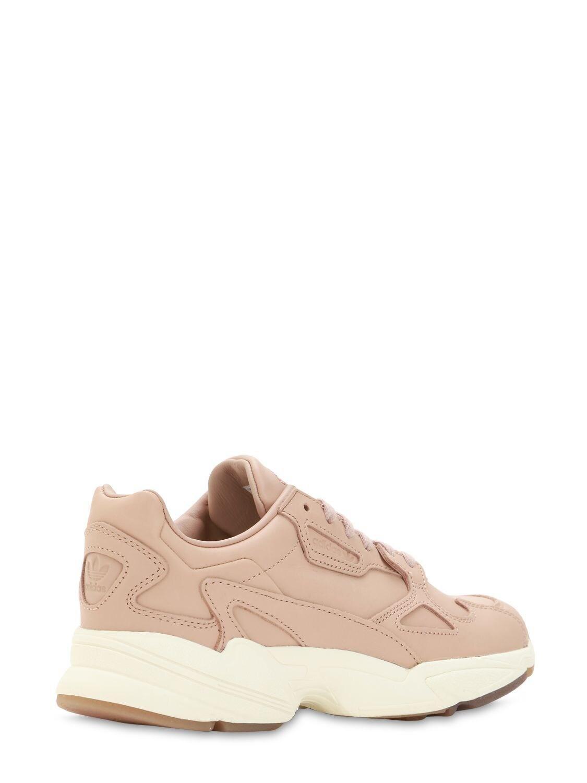 """Sneakers """"Falcon"""" De Ante adidas Originals de Ante de color Rosa"""