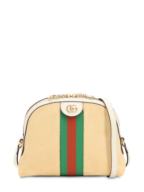 a40816aba9a Gucci. Women s Ophidia Suede Shoulder Bag