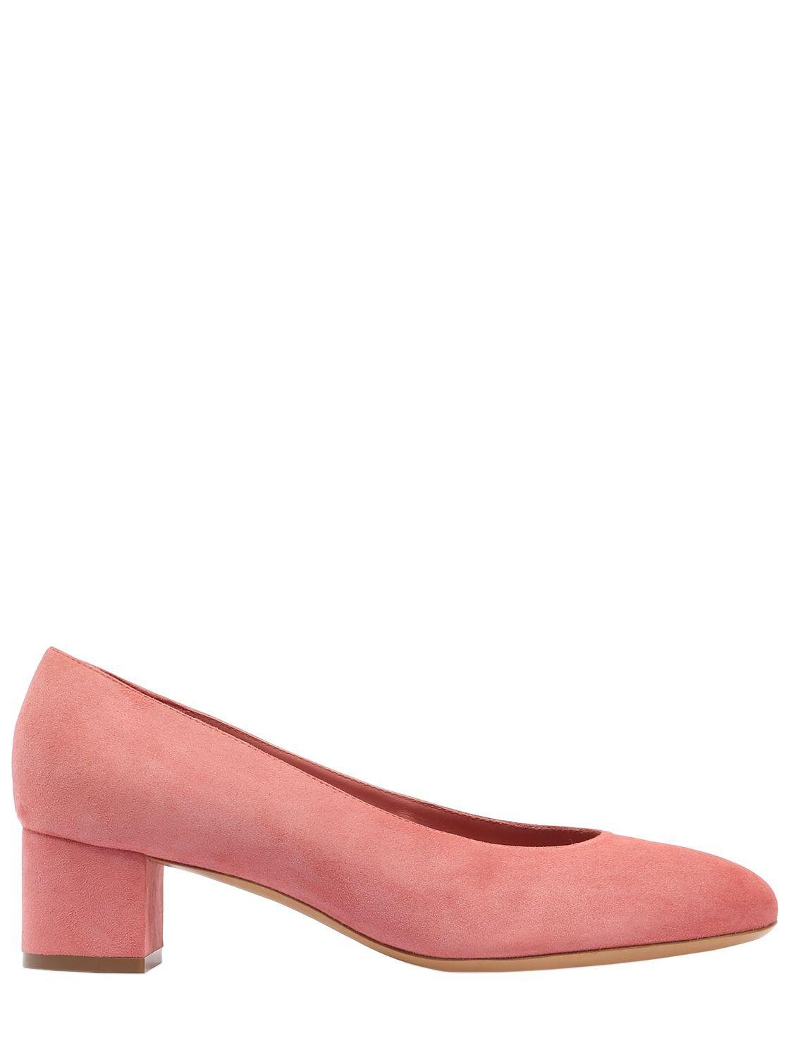 Low Price Sale Online Hot Mansur Gavriel 40MM BALLERINA SUEDE PUMPS Free Shipping Footaction Best Prices Cheap Price Clearance Online Ebay Hx20HrzgO