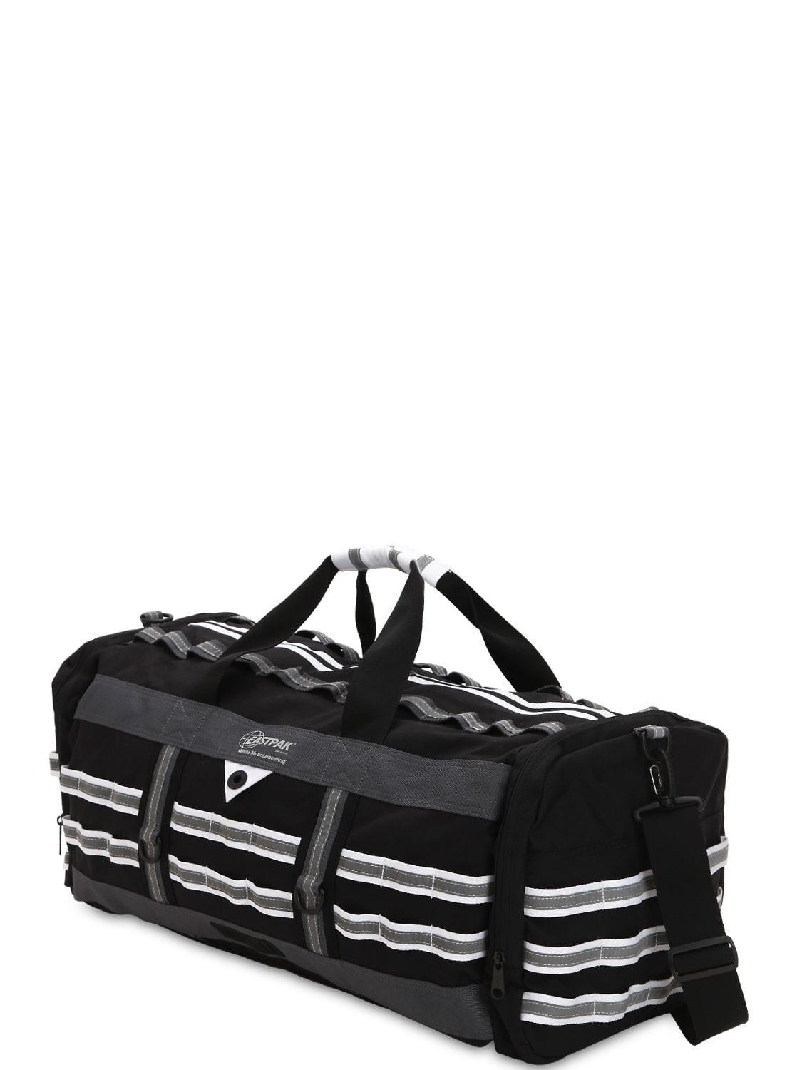 98ab12ffa0 Lyst - Eastpak 46l White Mountaineering Duffle Bag in Black for Men
