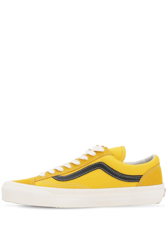 """Sneakers """"Ua Og Style 36 Lx"""" Toile Vans pour homme en coloris Jaune CQaE"""
