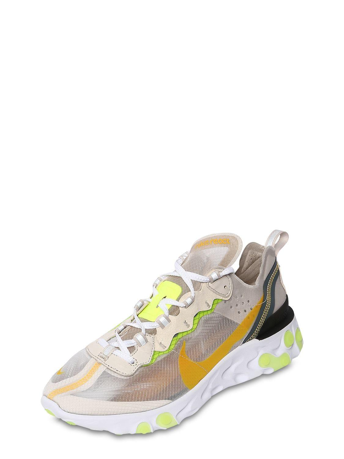 9ec1abb62ef0 Lyst - Nike React Element 87 Sneakers for Men - Save 20.873786407766985%