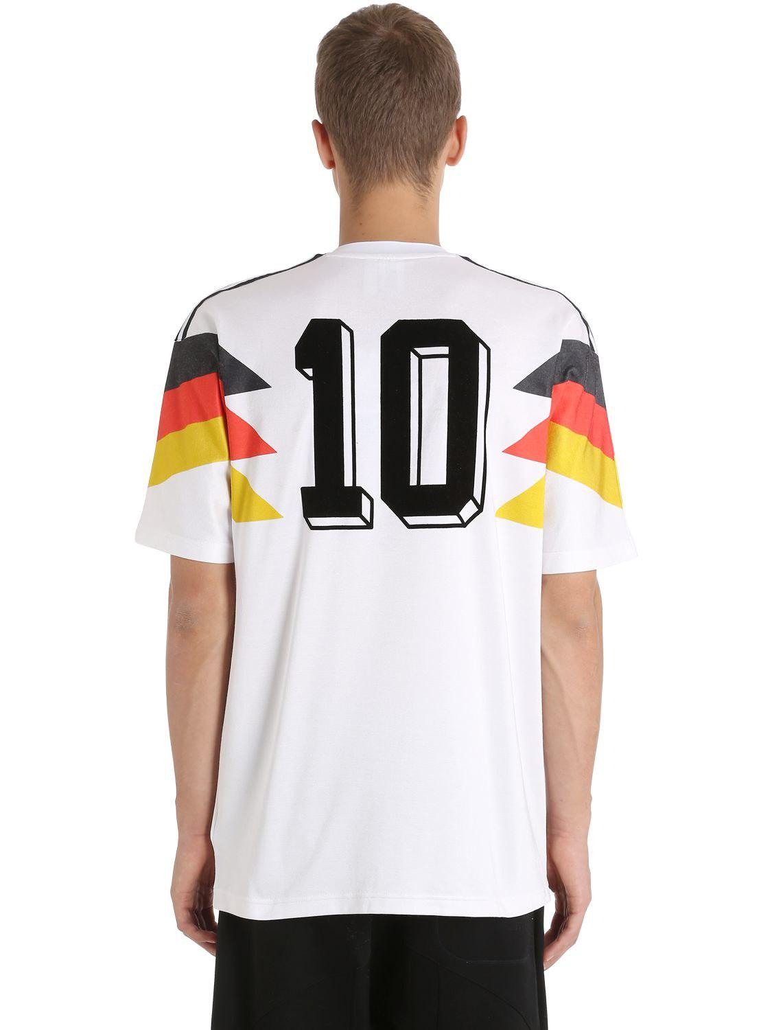 adidas Originals Germany 1990 Football Jersey in White for Men - Lyst