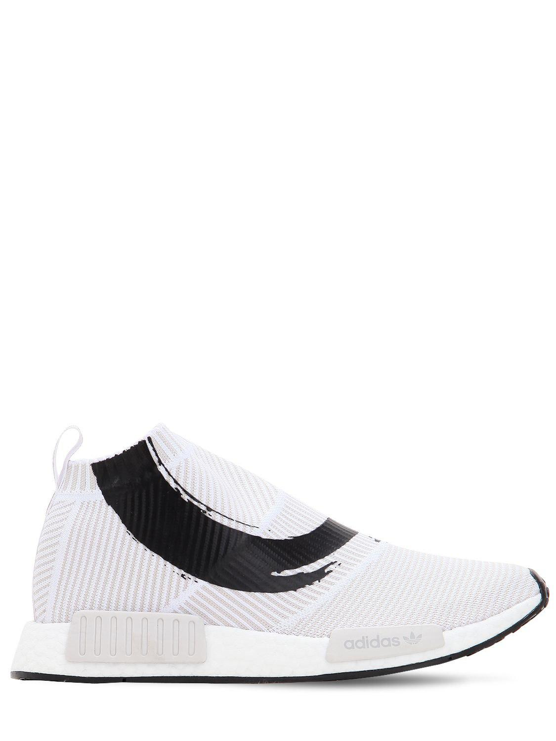 53b0399b40e2f adidas Originals Nmd cs1 Primeknit Sneakers in White for Men - Lyst