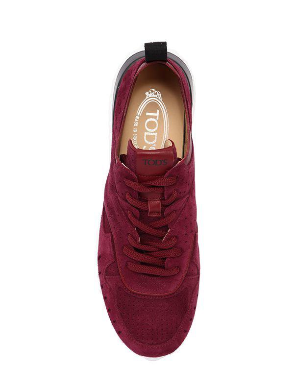 Tod's 30mm Suede Sneakers