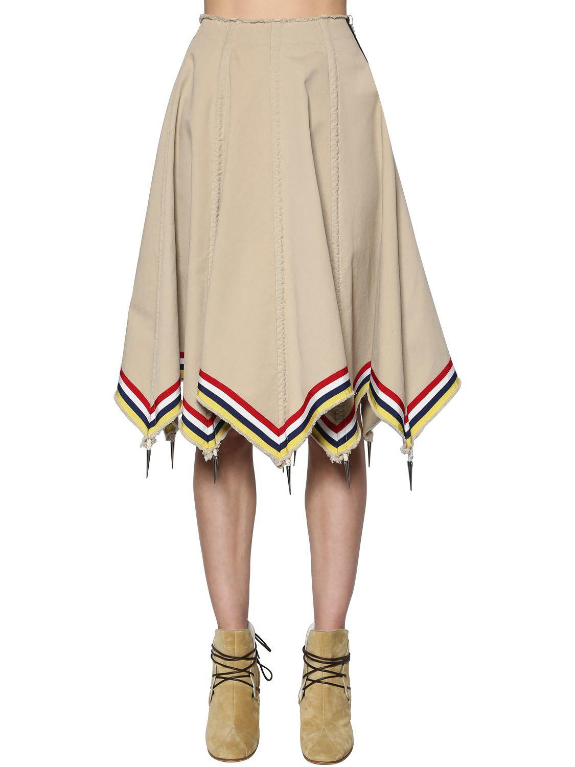 Umbrella cotton skirt J.W.Anderson Browse Buy Cheap Get To Buy Cheap Sale Find Great Buy Cheap View a3Xj7wO