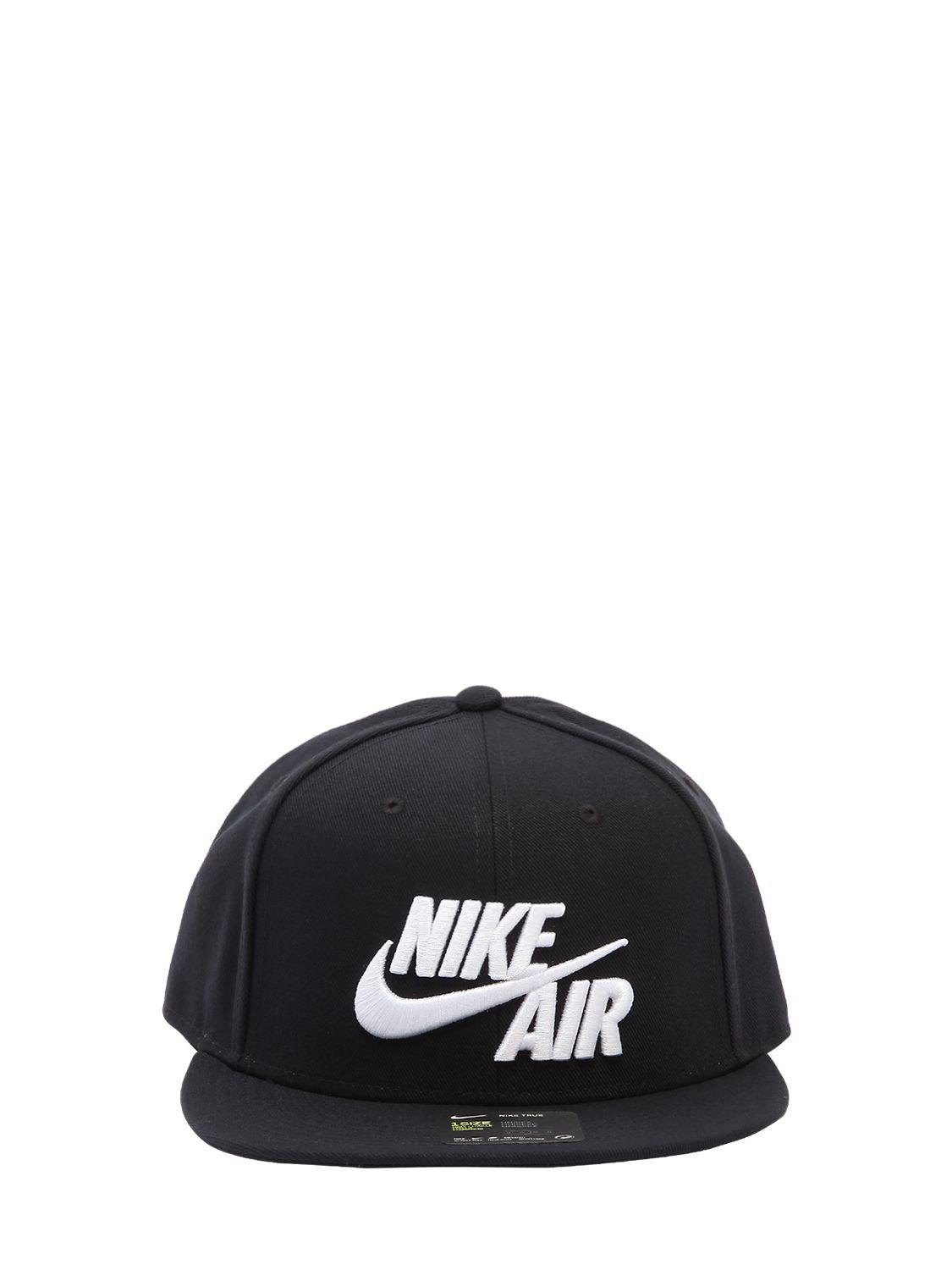 Lyst - Nike Air True Baseball Hat in Black 1e19525a9454
