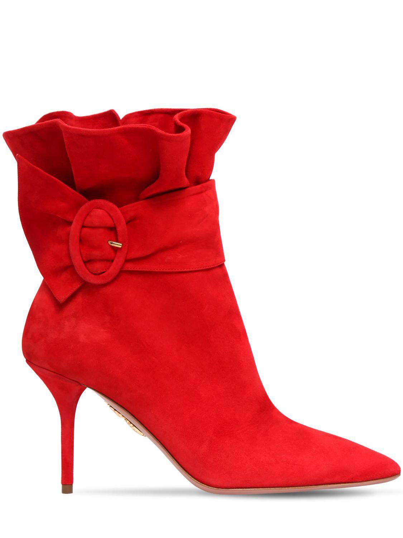 Aquazzura Palace 85 ankle boots uR07A