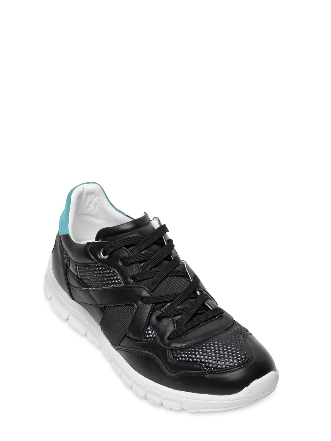 Lyst Dolce Amp Gabbana Superlight Leather Running Sneakers