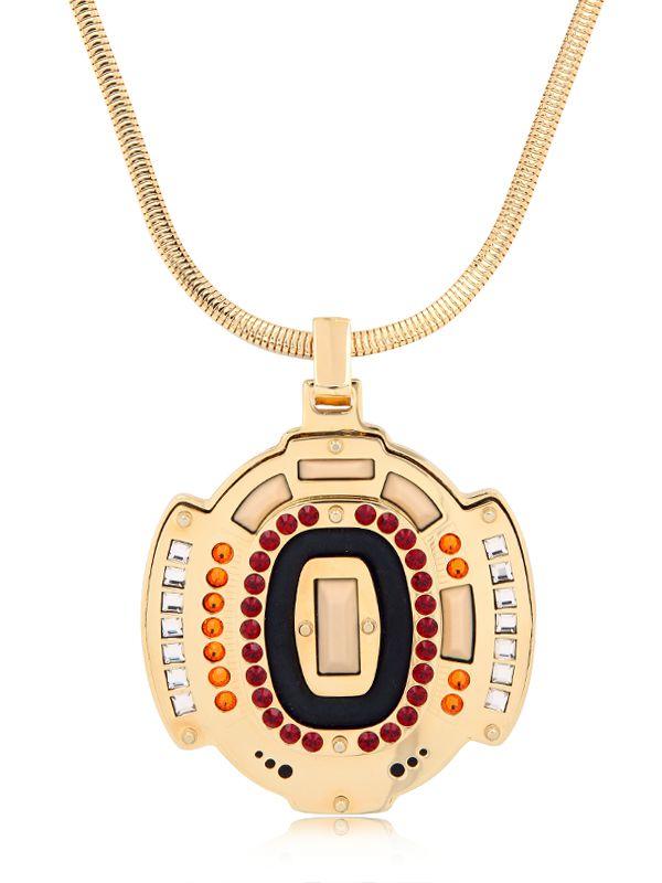 Ledaotto Buffalo Bills Stadium Necklace in Gold (Metallic)