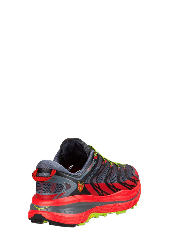 Rocker Shaped Sole Running Shoes