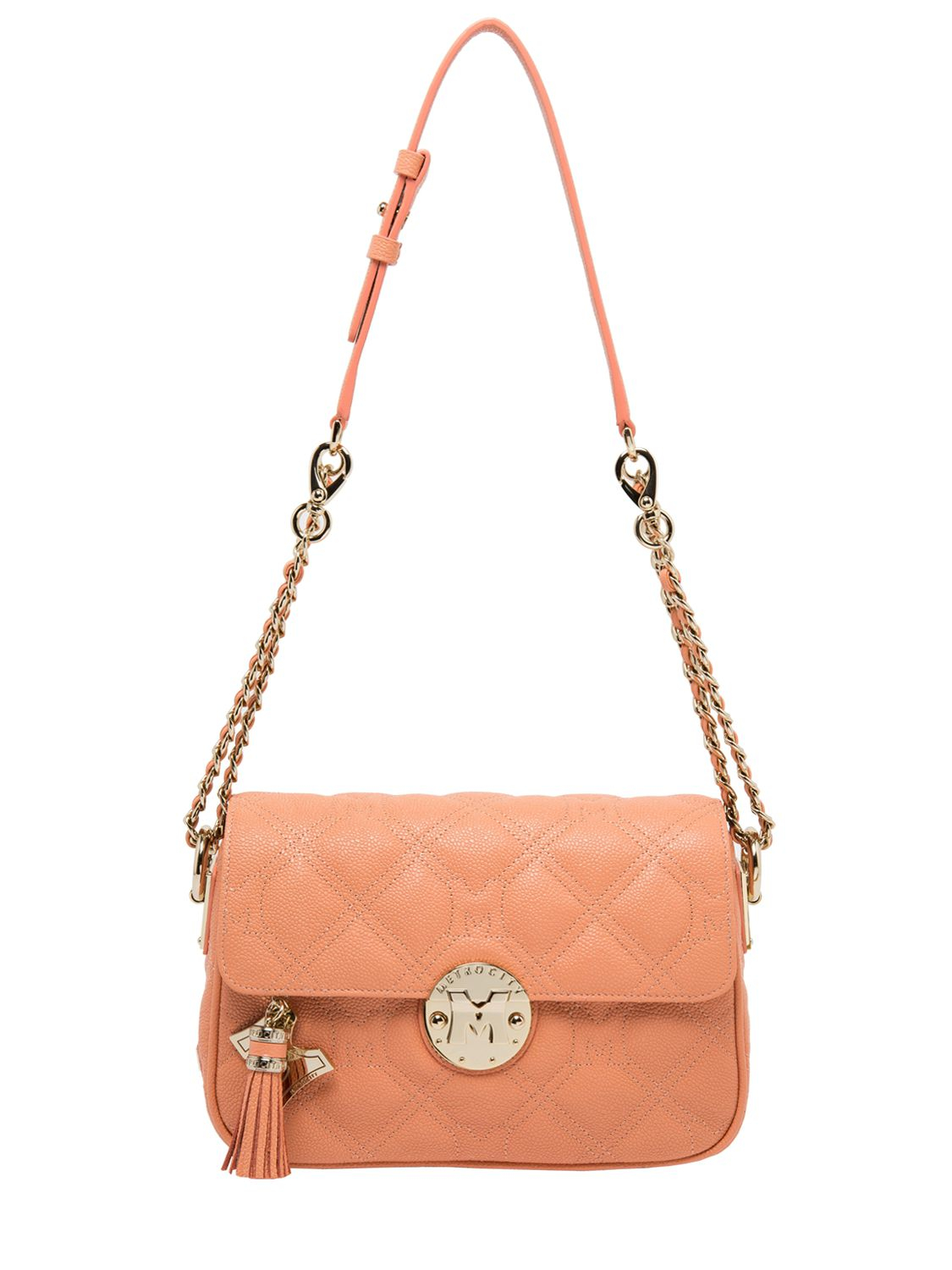 Lyst Metrocity Quilted Leather Shoulder Bag In Pink