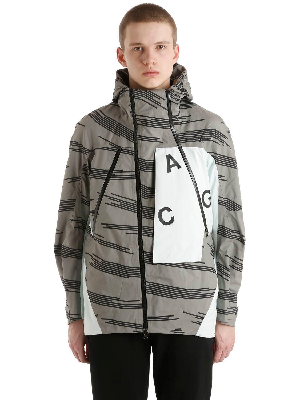 0186b6f99985 Nike Nikelab Acg Alpine Jacket in Gray for Men - Lyst
