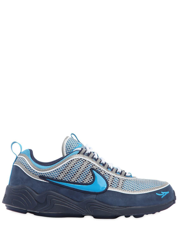 b5d86283d0ad1 Lyst - Nike Stash X Air Zoom Spiridon 16  Sneakers in Blue for Men