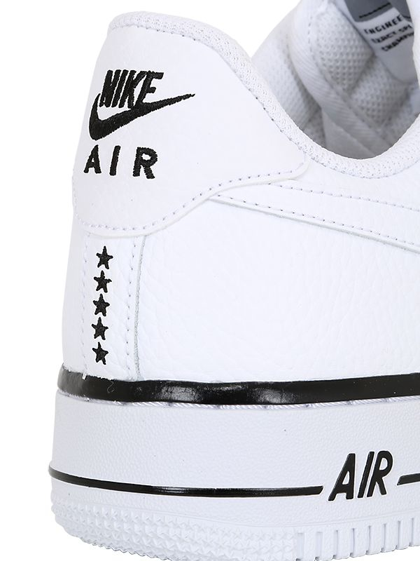 Nike Air Force 1 Faux Leather Sneakers in White for Men