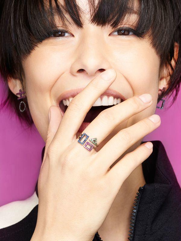 Bea Bongiasca Luck Pendant Mono Earring in Gold (Metallic)