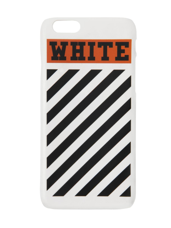 best loved 827c8 10c85 Off-White c/o Virgil Abloh White Striped iPhone 6 Case