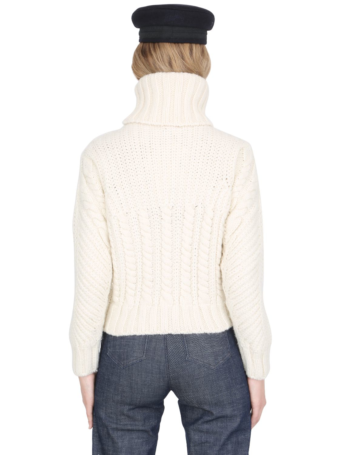 Tommy Hilfiger Tommy X Gigi Chunky Cable Knit Sweater In